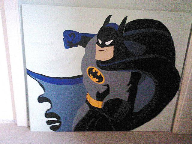 Batman på Jonathans værelse
