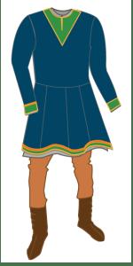 Viking outfit. Vikingdrakt.