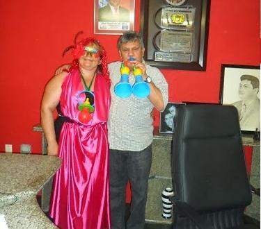 No quesito originalidade, o prefeito José Vanderley (Brejinho) e a primeira dama Aparecida Carvalho ganharam o primeiro lugar