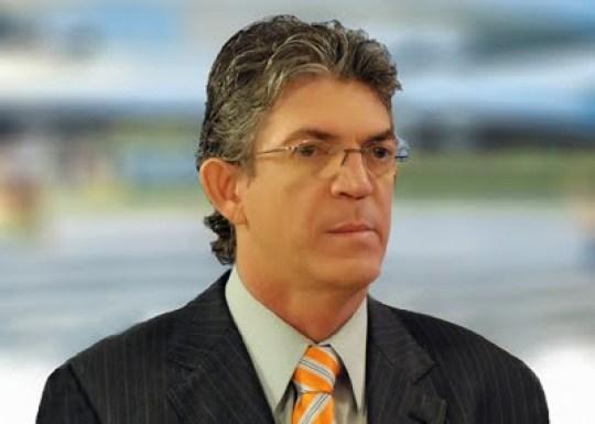 Ricardo Coutinho, da Paraíba : na lista