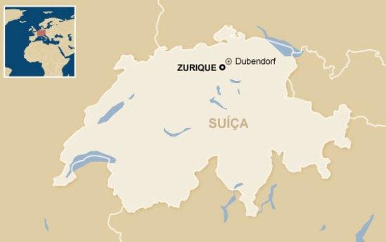 Zurique - Suíça e não Alemanha