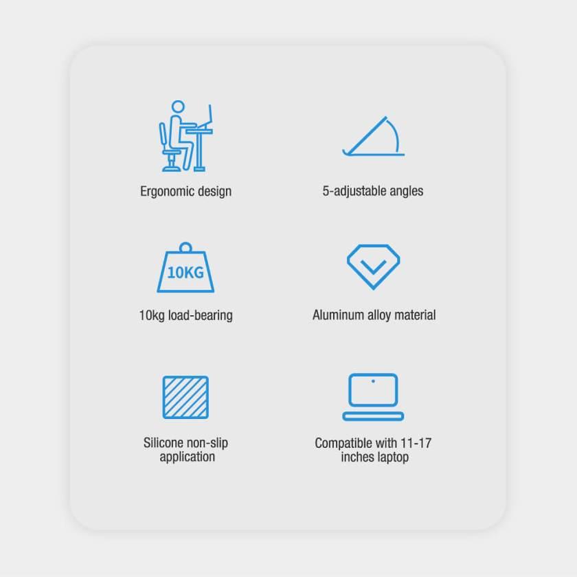Nillkin FlexDesk Adjustable Laptop Stand