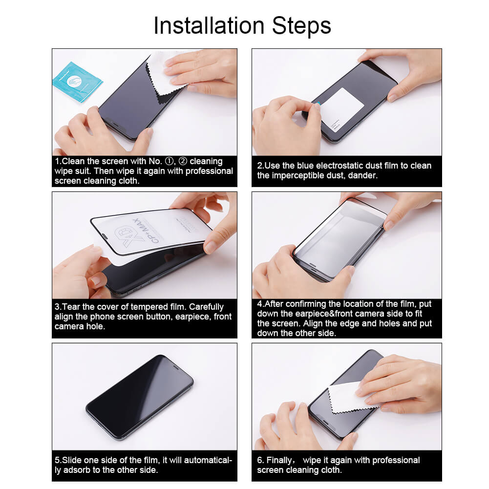 Nillkin Amazing CP+ Pro tempered glass screen protector for Asus ROG 5 (ROG Phone 5)