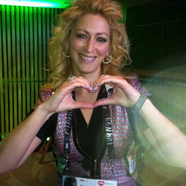 Jane McGonigal Hearts Nilofer Merchant