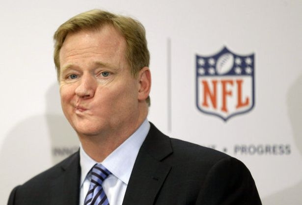 Roger Goodell. NFL Commissioner Roger Goodell (AP Photo/Seth Wenig)