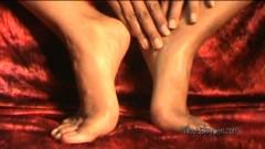 Foot Masturbation 5