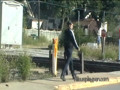 Crazy Girl vs Train