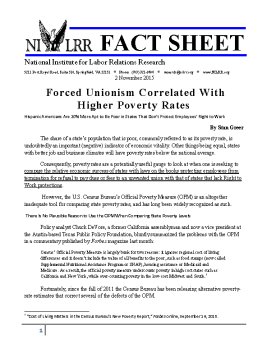 2015_NILRR_Fact_Sheet-Forced_Unionism_Correlated_Higher_Poverty_Rates_Page_1