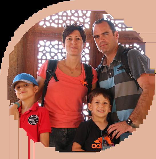 famille lancelot globetrotteurs