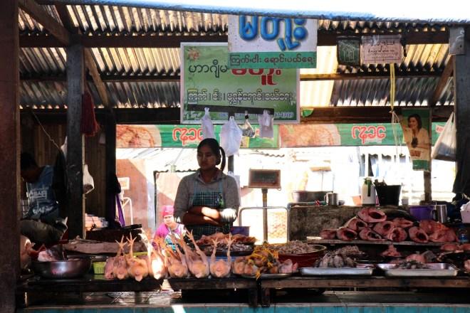 marché de Pyin Oo Lwin
