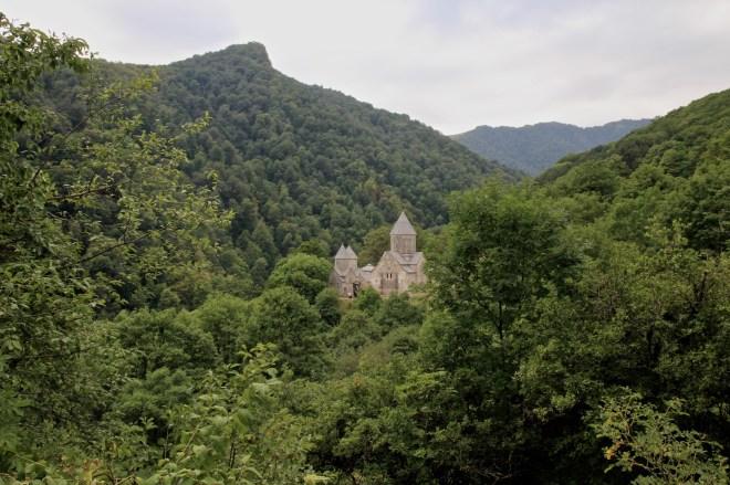 Haghartsin, dans la région de Dilijan