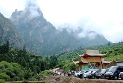 Gansu, Zhagana Stone Moutains