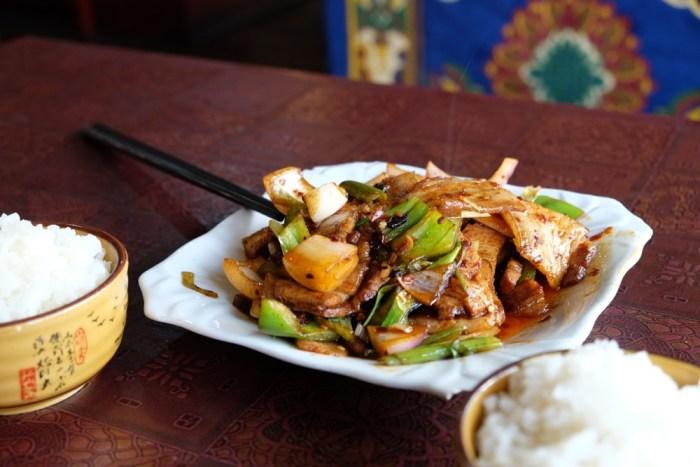 nourriture à Taksang Lhamo
