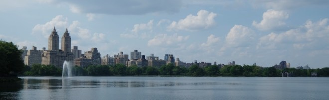 New York, Central Park, Reservoir