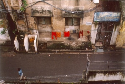 Alley in India.