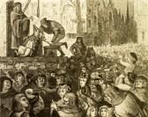 """הוצאה להורג של חיה בתלייה. משפטים נגד בעלי חיים התקיימו באירופה מאז המאה התשיעית והתפשטו מאוחר יותר לאמריקה עד המאה ה-20. החיות הועמדו לדין בדר""""כ באשמת רצח בני אדם, מעשי סדום, פגיעה ביבולים ומטרד לציבור. עונשם היה לרוב מאסר, עינויים והוצאה להורג."""