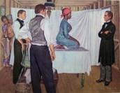 """ד""""ר סימס מצד ימין מבצע ניסוי בנשים שחורות שנחטפו לאמריקה במסגרת סחר העבדים האטלנטי. במשך 200 שנה, מדענים ביצעו שלל ניסויים על אוכלוסיות מוחלשות בחברה (תינוקות, נכים, יתומים, נשים, שחורים וכו'). המאמר מציג סקירה היסטורית חלקית של אותם הניסויים, הכוללת את הרטוריקה ששימשה את המדענים להצדקת הניסויים, ואת ההתנגדות למוסד זה."""