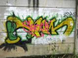 Grafiti Tepi Rel Poris 2