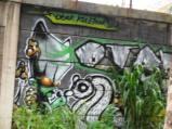 Grafiti Tepi Rel Poris 3