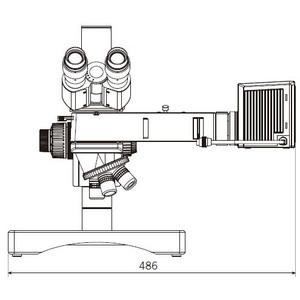 Motic BA310 MET-H trinocular microscope