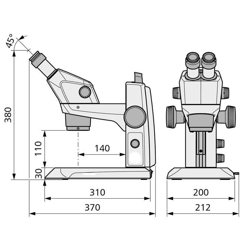 Microscope stéréo zoom ZEISS Stemi 305 MAT-Set