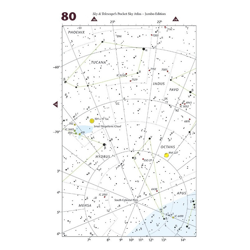 Sky Publishing Pocket Sky Atlas Jumbo Edition