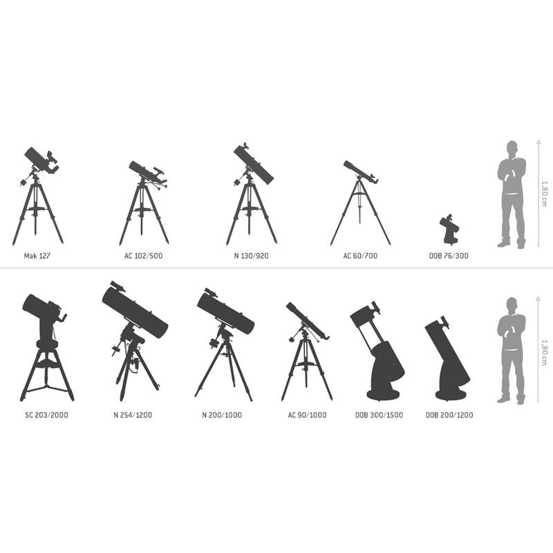 Omegon Dobson telescope Advanced N 152/1200