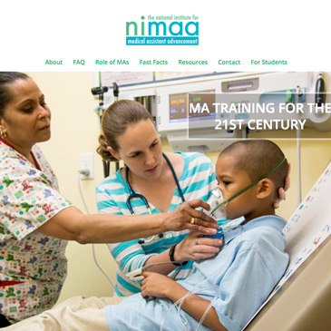 Health Care Services web design in New Haven