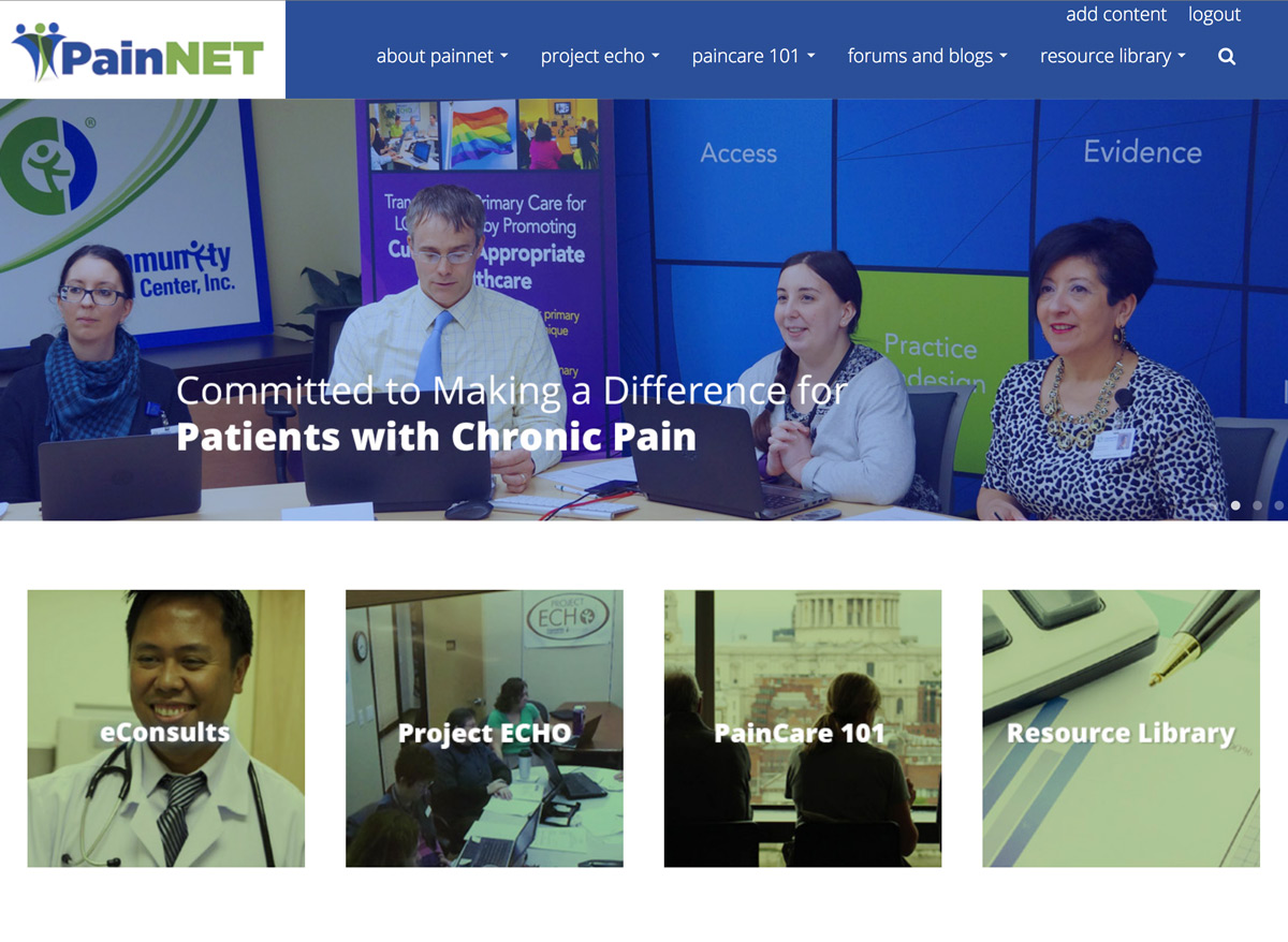 web design for healthcare services
