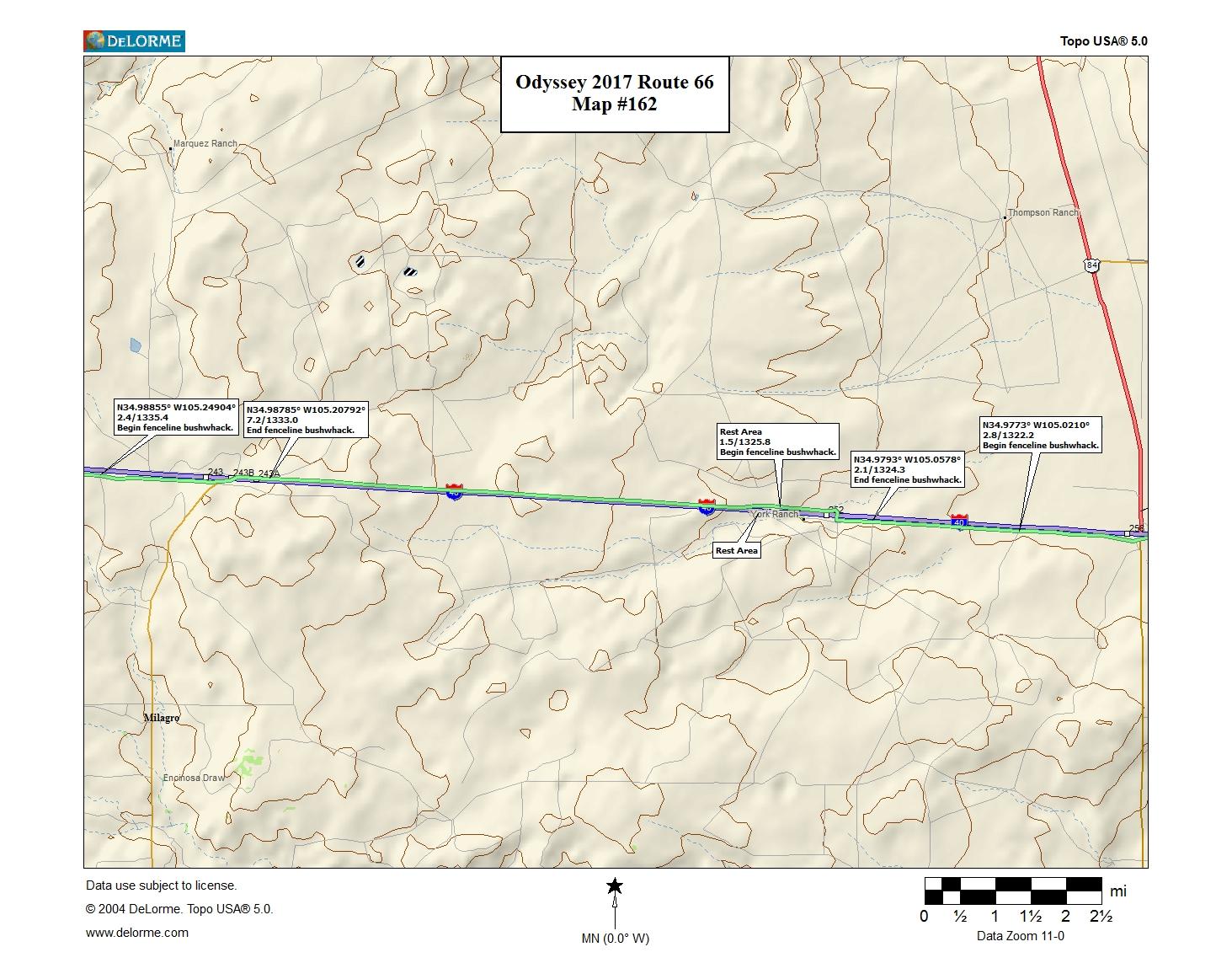 Map #162  Nimblewill Nomad
