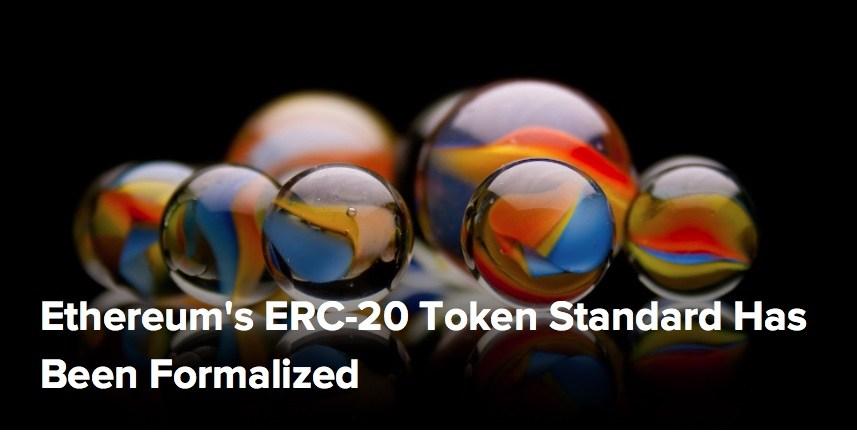 Ethereum's ERC-20 Token Standard Has Been Formalized