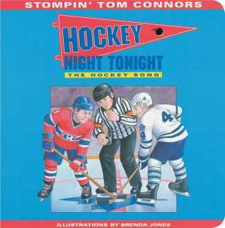 Hockey Night Tonight (Board Book)