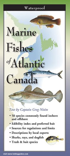 Marine Fishes of Atlantic Canada – Folding Guide