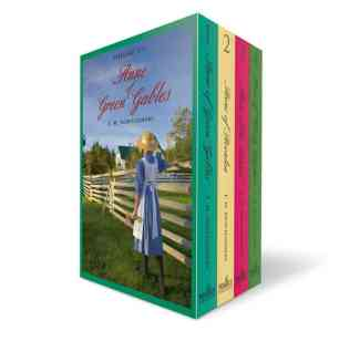 Anne of Green Gables Boxed Set (Vol 1-4)