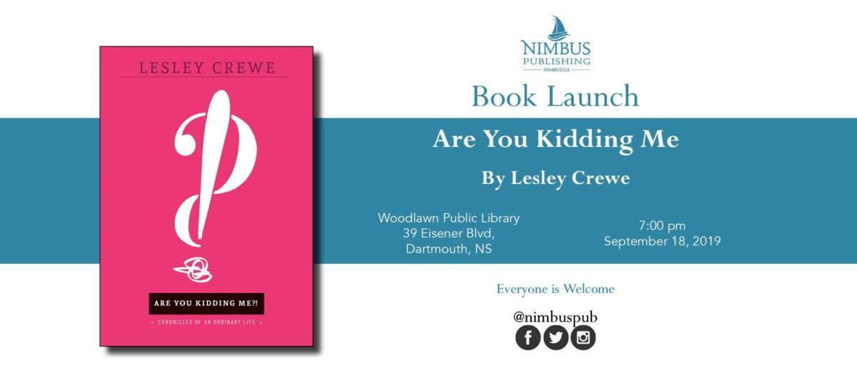Kidding Book Launch