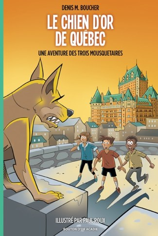 Le chien d'or de Quebec