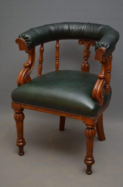 antique office chair antique desk chair   Antique Furniture Blog