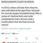 Medical misdiagnosis stories