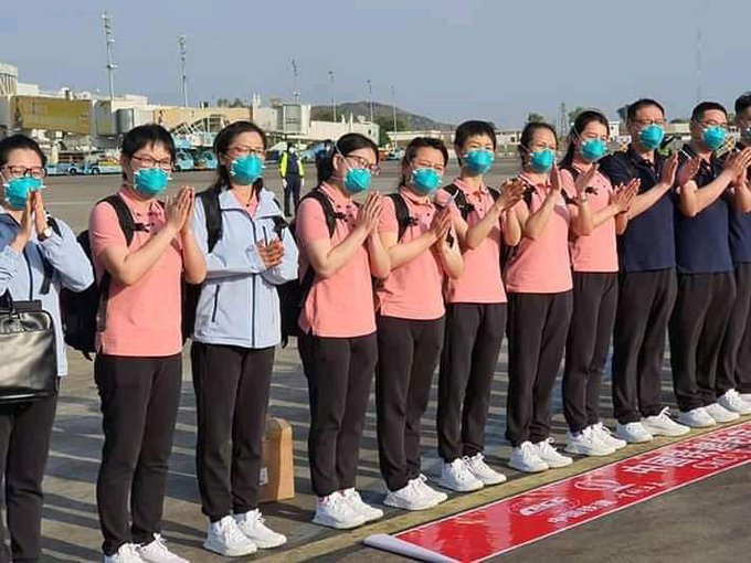 COVID-19: Chinese doctors finally arrive Nigeria, 11 Facts You should Know About Their Invitation - Nigerian Health Blog