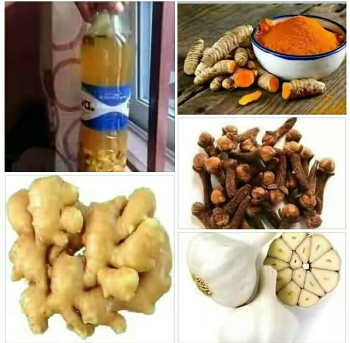 Health Benefits of ginger, garlic turmeric and cloves combo