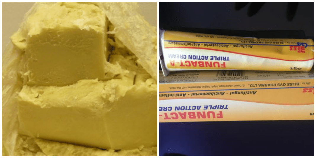 Mixing Funbact A and Shea butter for babies? Dangers