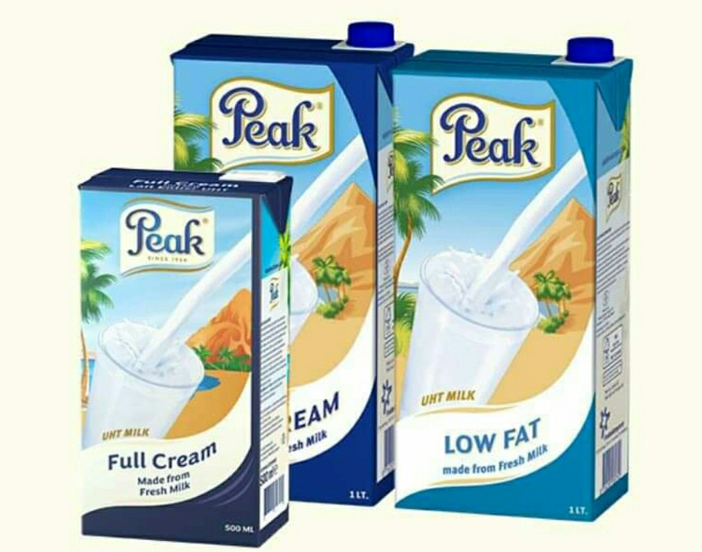 Milk in Nigeria with low cholesterol