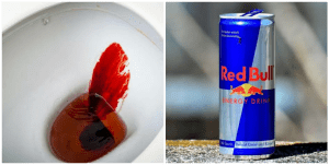 Can energy drinks cause blood in stool?