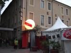Place d'Assas: champagne sponsor