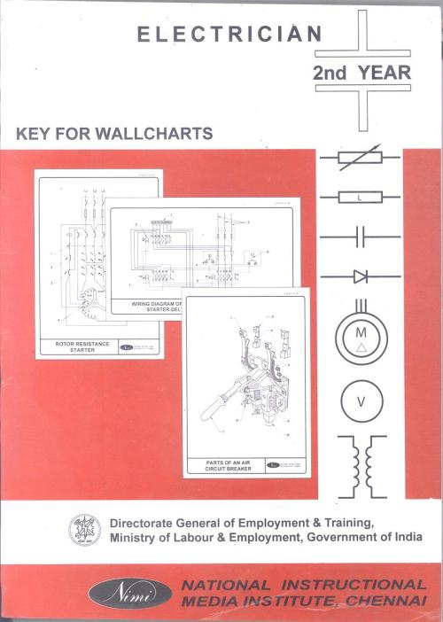 small resolution of electrician wall chart 2 year english