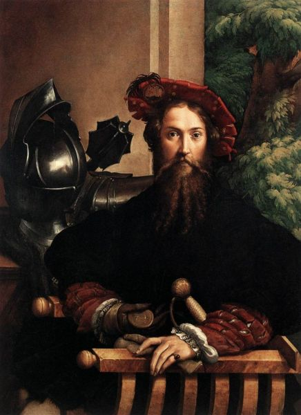 Parmigianino, Portrait de Galeazzo Sanvitale, c. 1524.