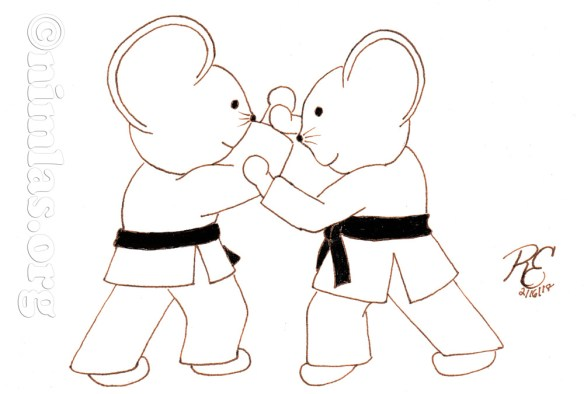 Daily Creativity: Aikido Mice