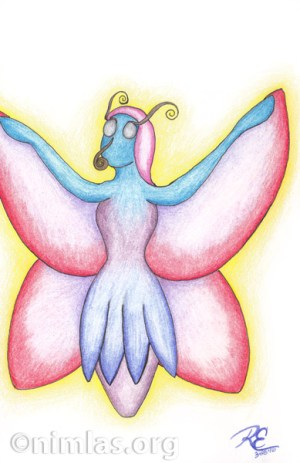 Daily Creativity: Butterfly Woman