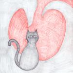 Dragon Heart Kitty
