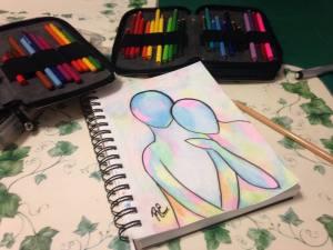 Holi Drawing